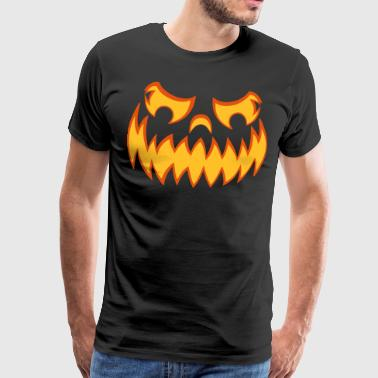 Halloween pumpkin - Men's Premium T-Shirt