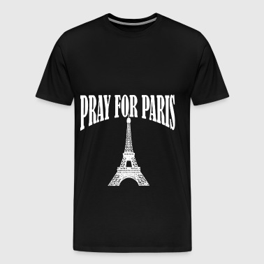 Pray for Paris - Men's Premium T-Shirt