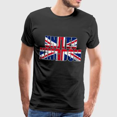 United Kingdom - Premium-T-shirt herr