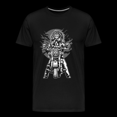 Indian Chief Motorcycle - Men's Premium T-Shirt