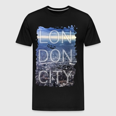 London City Gift City England - Herre premium T-shirt