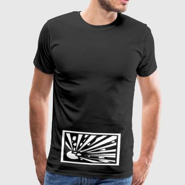 random art3 chaos - Men's Premium T-Shirt