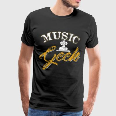 Music Geek - Premium-T-shirt herr
