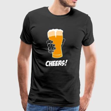 Cheers! Beer - Men's Premium T-Shirt