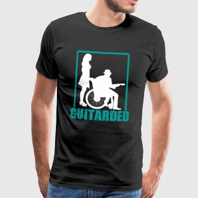 guitarded - Mannen Premium T-shirt