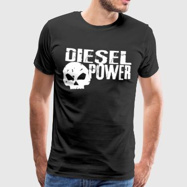 diesel power, only the diesels belong to the world - Men's Premium T-Shirt