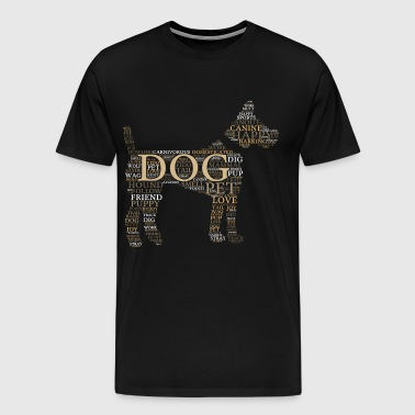 Dog dog logo - Men's Premium T-Shirt