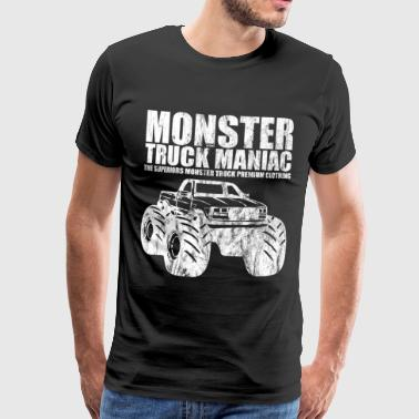 SUPERIEUREN ™ - monstertruck maniak - Shirt Design - Mannen Premium T-shirt