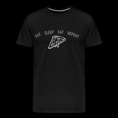 Eat Sleep Eat Repeat - Männer Premium T-Shirt