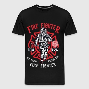 FIREFIGHTER - Firefighter Shirt Design - Men's Premium T-Shirt