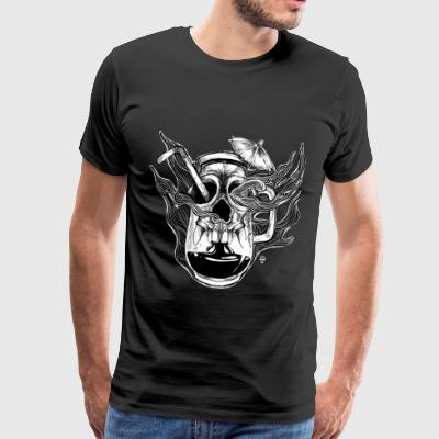 Poison Cocktail - Männer Premium T-Shirt