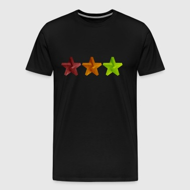 Star Geometry Cap - Men's Premium T-Shirt