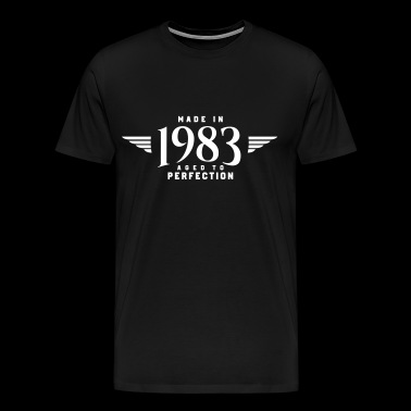 MADE IN 1983 (gåva) - Premium-T-shirt herr
