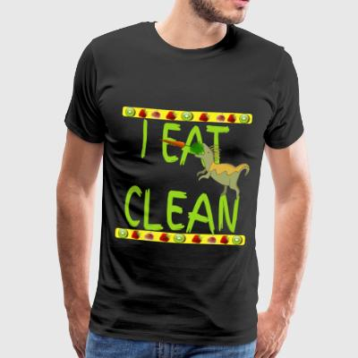 Eco Bio Lowcarb Clean Dinosaur Stone Age Diet - Men's Premium T-Shirt