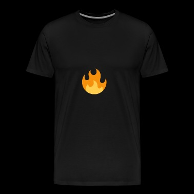 Flammen! - Premium T-skjorte for menn