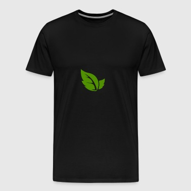 Leaf a like! - Herre premium T-shirt