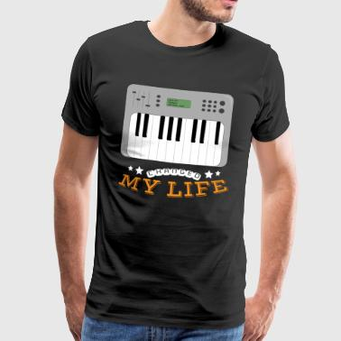 Synthesizer Changed My Life - Mannen Premium T-shirt