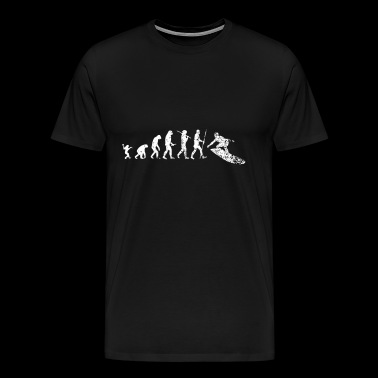 Evolution Surfen - Männer Premium T-Shirt