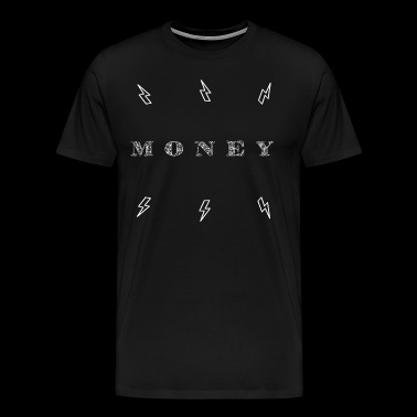 Money Magnet Lightning Strike - Männer Premium T-Shirt