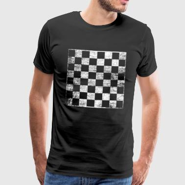 chessboard - Men's Premium T-Shirt