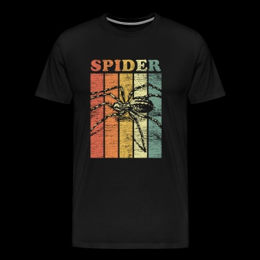 Spider animal poison scared phobia spider web gift - Men's Premium T-Shirt