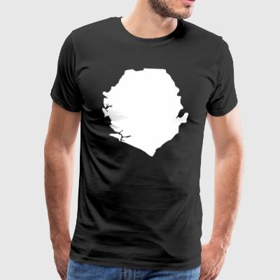 Sierra Leone Original Gift Idea - Men's Premium T-Shirt