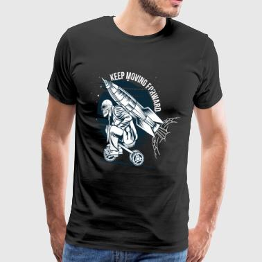 Go straight ahead - Men's Premium T-Shirt