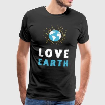 Save the planet love earth eco Save the environment - Men's Premium T-Shirt