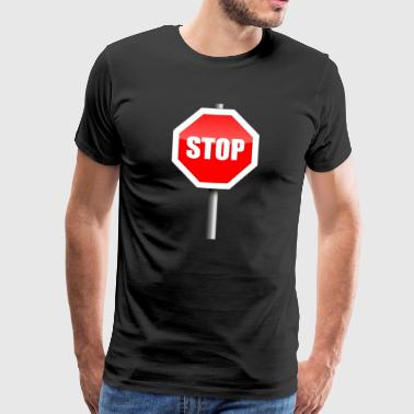 Stop Stop Discontinued - T-shirt Premium Homme