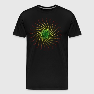 Reggae music energy vortex rastafari jah jamaica - Men's Premium T-Shirt