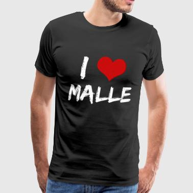 Mallorca Malle Holiday Party - Men's Premium T-Shirt