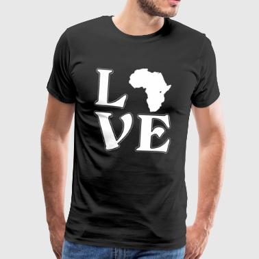 I love Africa - Africa - Adventure - Men's Premium T-Shirt