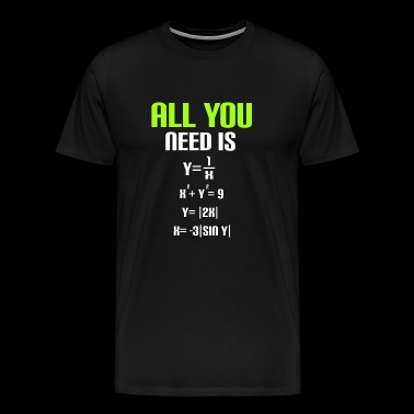 Mathe Algebra Analysis funktionen Physik science - Männer Premium T-Shirt