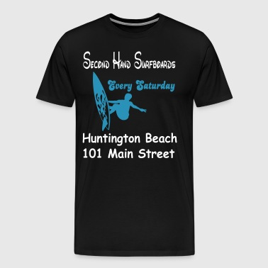 Second Hand Surfboards - Männer Premium T-Shirt