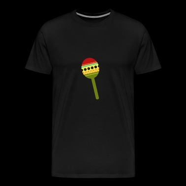 Maracas Cinco de Mayo - Men's Premium T-Shirt