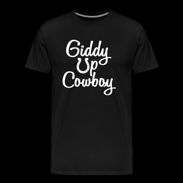 Horses and Cowboys - Men's Premium T-Shirt