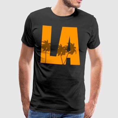 Los Angeles Palm Cadeau Design - T-shirt Premium Homme