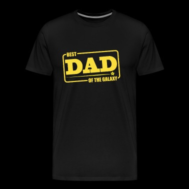 Best Dad of the Galaxy - Men's Premium T-Shirt
