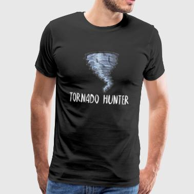 Tornado Hunter Nature Twister Gift Idea - Men's Premium T-Shirt