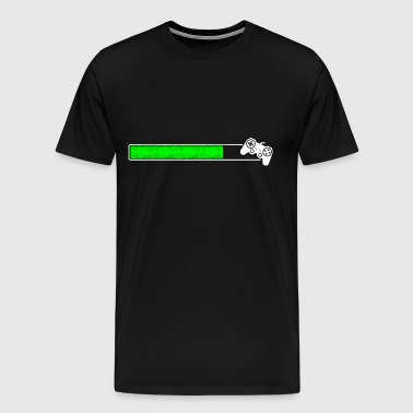 Loading Game Ladebalken laden upload Installieren - Männer Premium T-Shirt