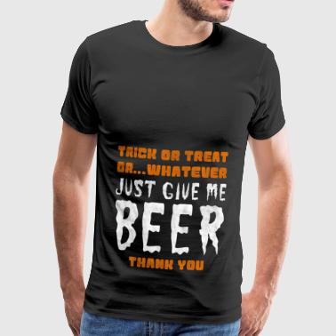 Pas cher alternatives de halloween: la bière T-shirt - T-shirt Premium Homme