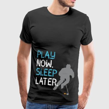 Ice Hockey - Men's Premium T-Shirt
