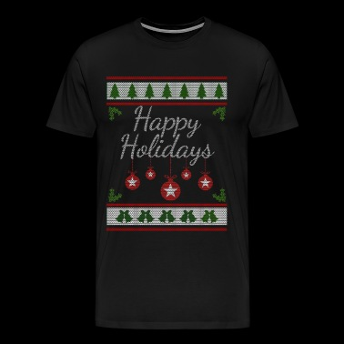 Happy Holidays - Men's Premium T-Shirt