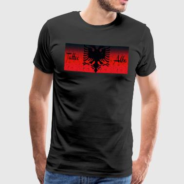 Albania tattoo - Men's Premium T-Shirt