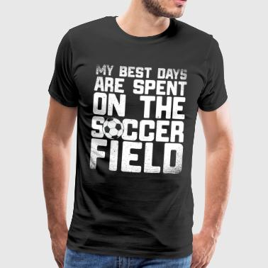 13 best days soccer - Men's Premium T-Shirt