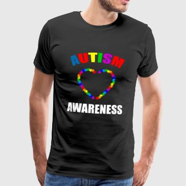 Autism Awareness - Herre premium T-shirt