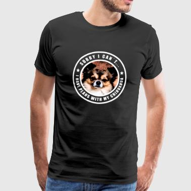 Chihuahua chihuahuas dog dogs gift puppy dog - Men's Premium T-Shirt