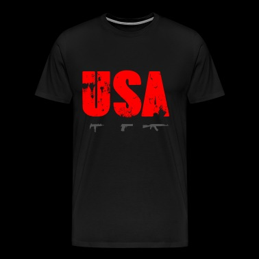 US Law - Mannen Premium T-shirt