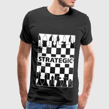 Strategie wite - Männer Premium T-Shirt