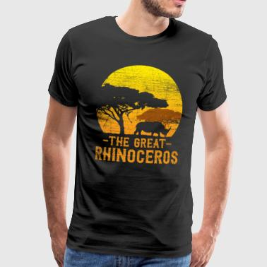 The great rhinoceros - Männer Premium T-Shirt